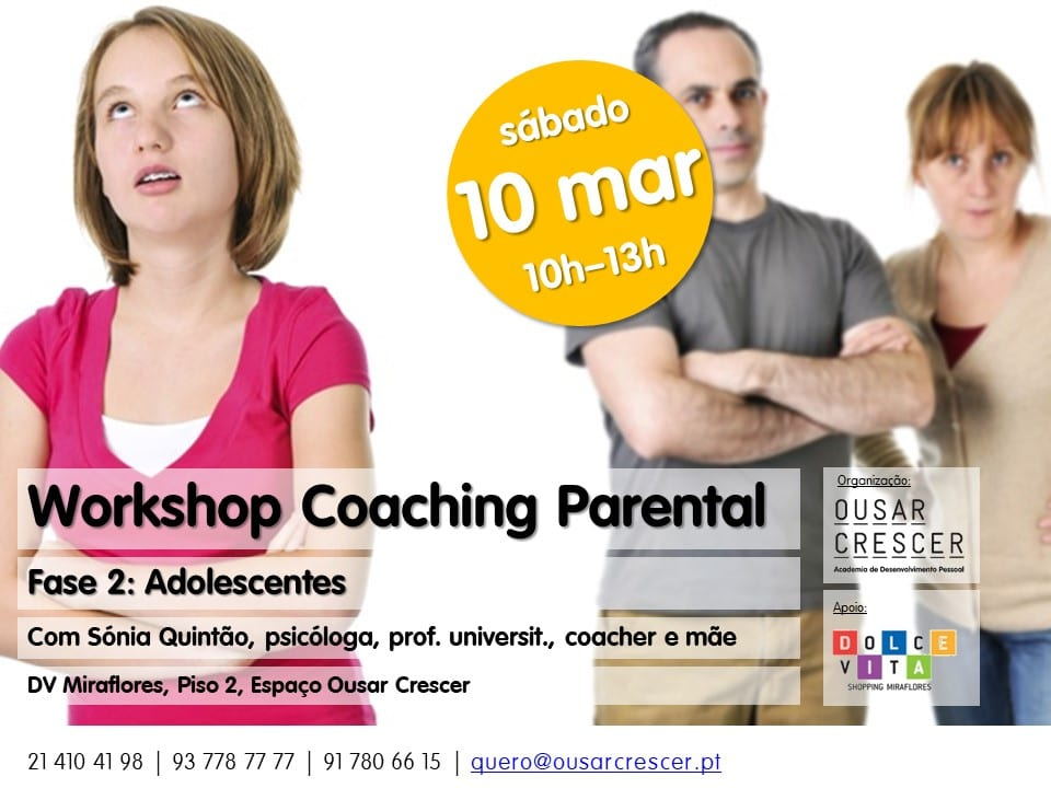 Workshop de Coaching Parental – Fase 2: Adolescentes