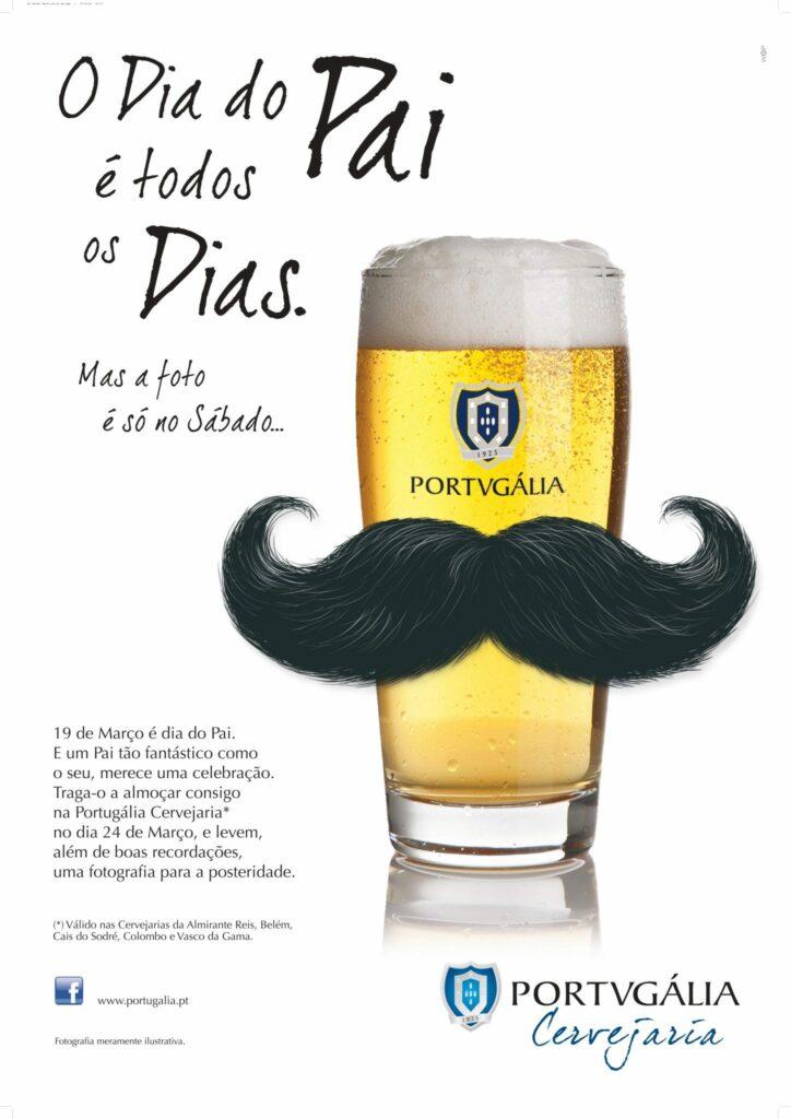 Dia do Pai Portugalia Cervejaria