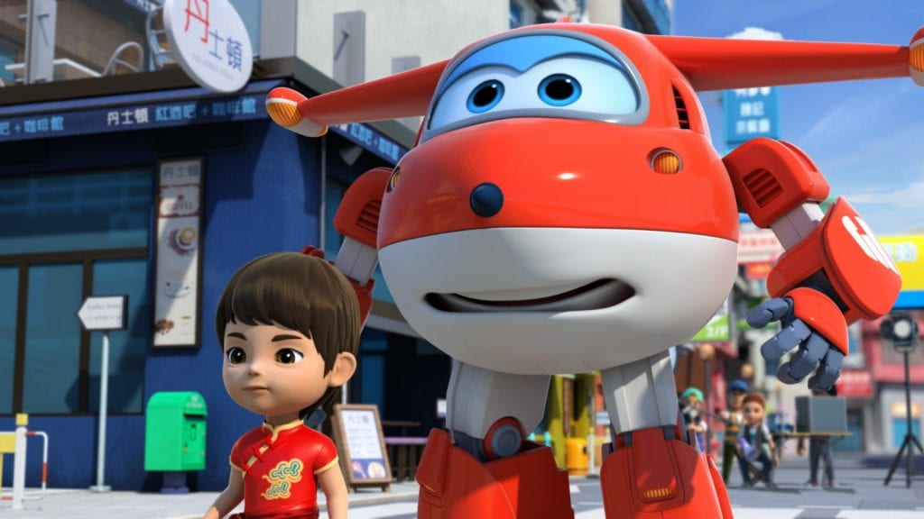 Super Wings no Canal Panda