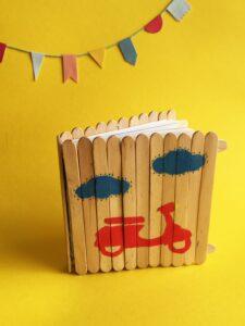 prendas para o dia do pai trabalhos manuais: DIY caderno Dia do Pai