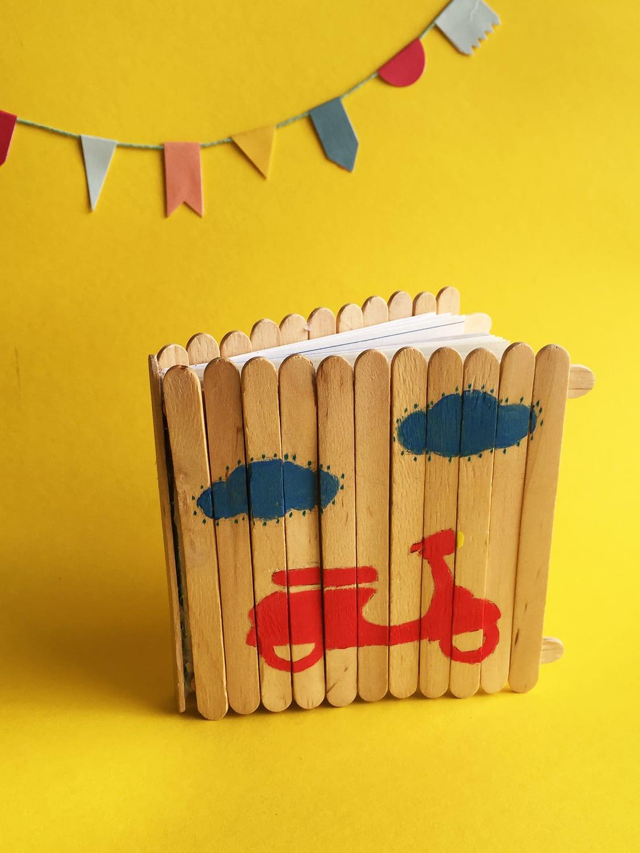 DIY caderno Dia do Pai