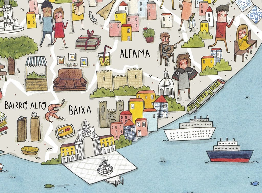 Lançamento The New Voyager in Lisboa c/ a ilustradora Rafaela Rodrigues