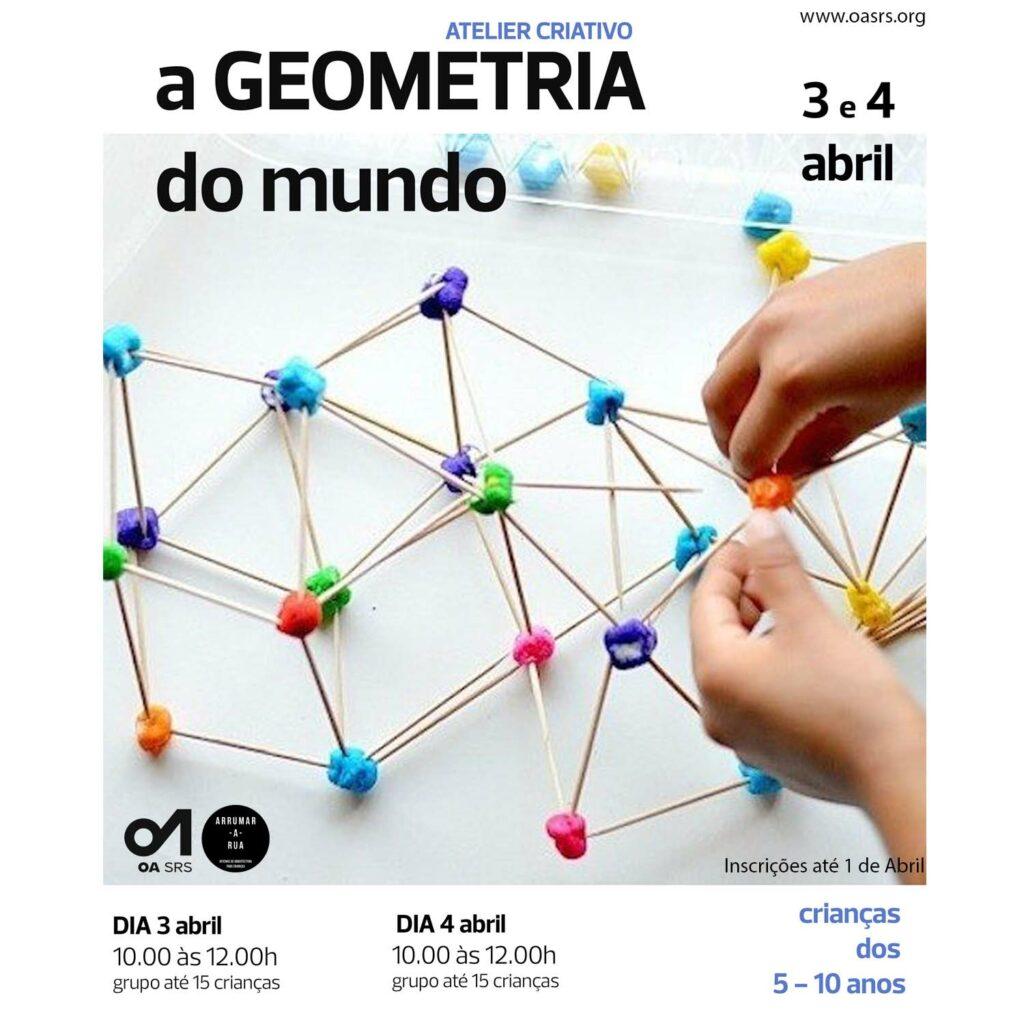 """Atelier Criativo """"A Geometria do Mundo"""""""