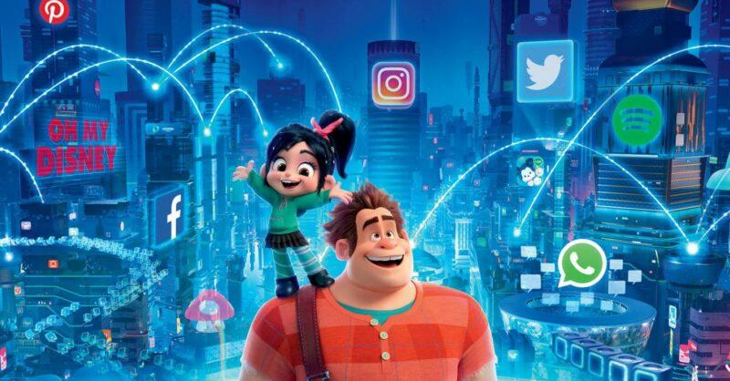 Poster Filme Ralph vs Internet