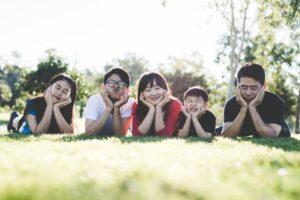 as famílias fortes são optimistas