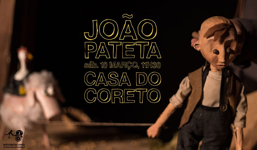 João Pateta na Casa do Coreto