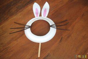 brincadeiras-páscoa-máscara-de-coelho
