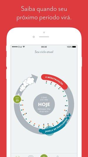clue app para engravidar