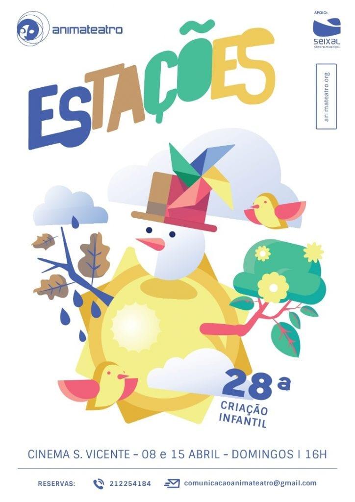 """estreia """"ESTAÇÕES"""" 28ª criação infantil ANIMATEATRO"""