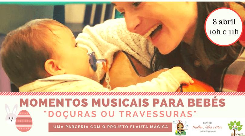 Momentos musicais para Bebés
