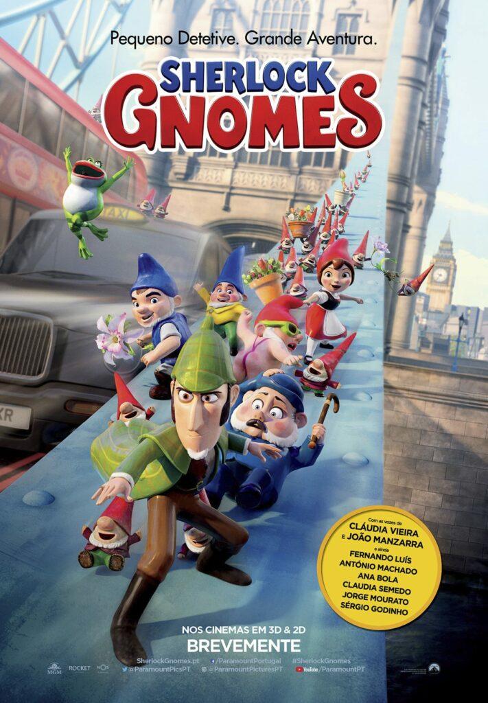 sherlock gnomes cartaz