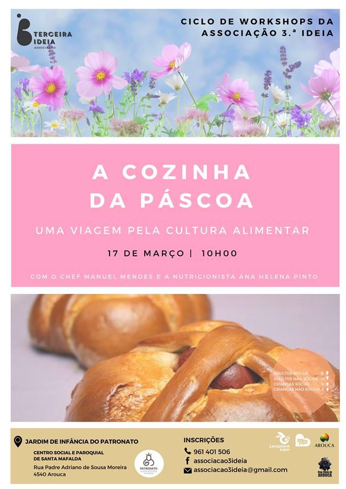Workshop – A Cozinha da Páscoa