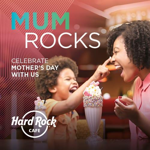 Hard Rock Dia da Mãe