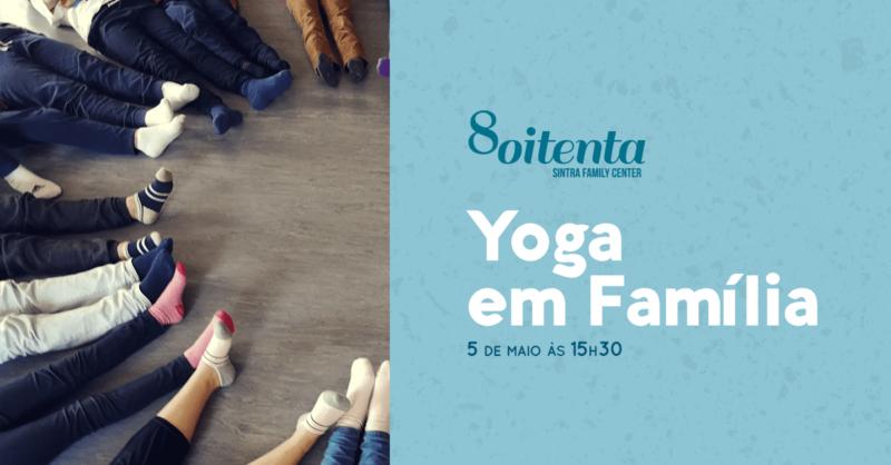 Yoga para Famílias – Momentos de Relaxamento