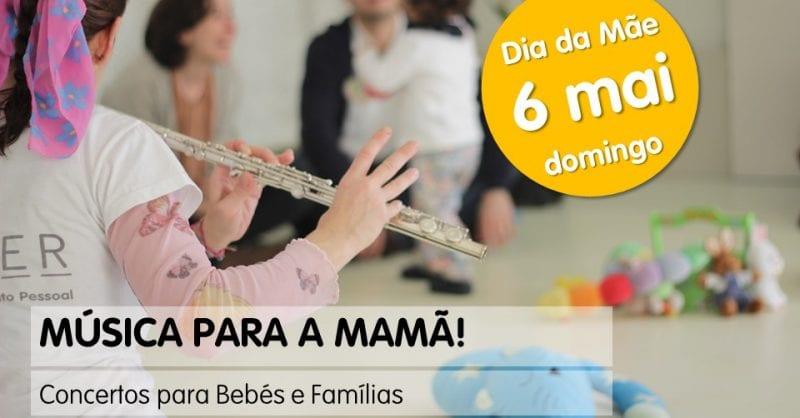 Música para a Mamã na Ousar Crescer!