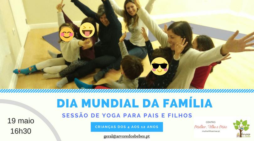 Sessão de Yoga para Pais & Filhos