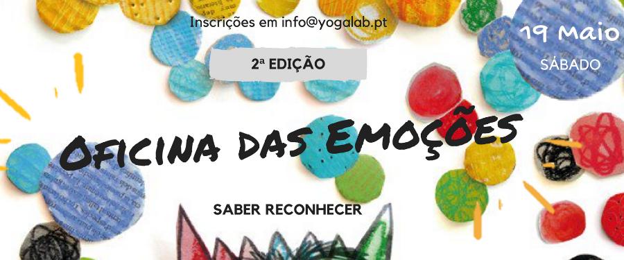 Oficina das Emoções | 2ª edição