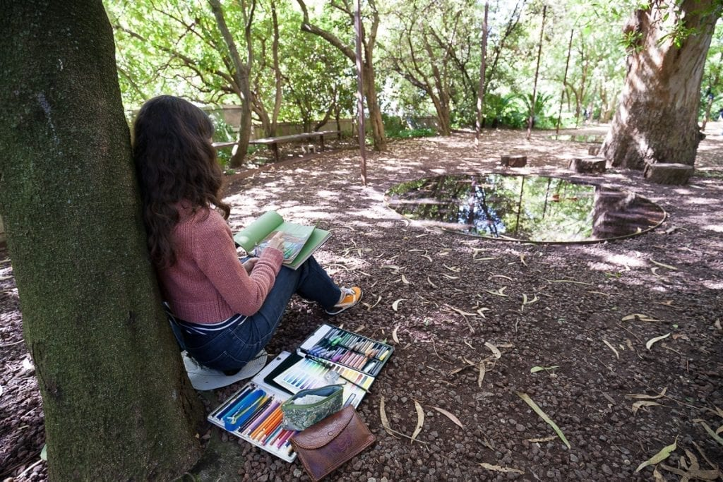 Gulbenkian Dia da Terra - Garden Sketching