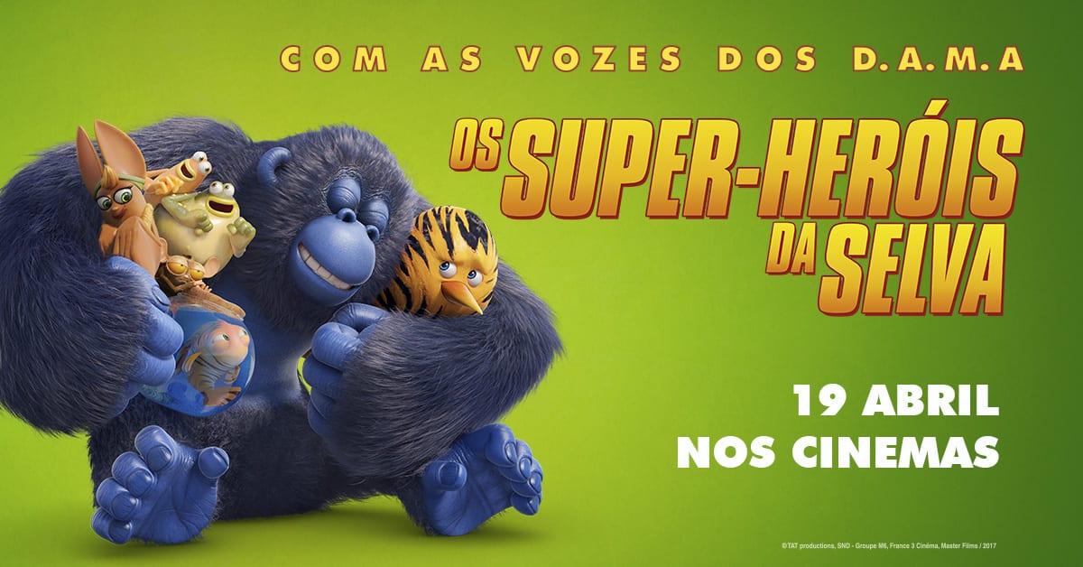 Filme os super-heróis da selva