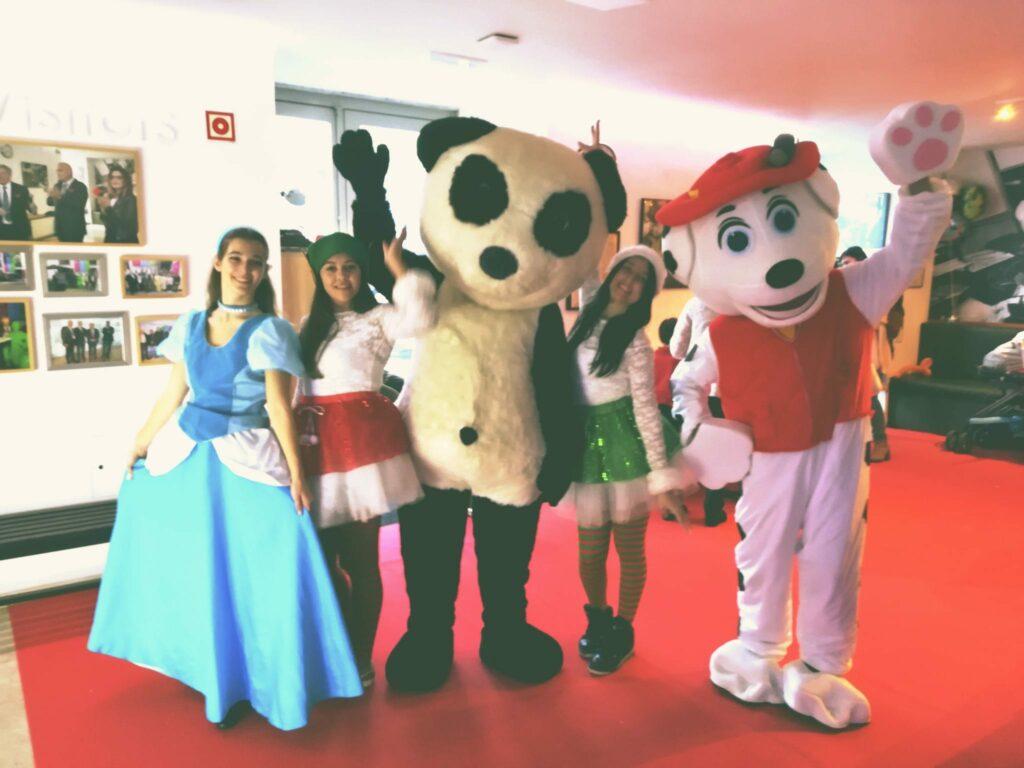 Party Spot - Mascotes