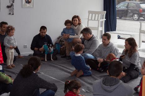 Baby Gym, ginástica infantil com cães