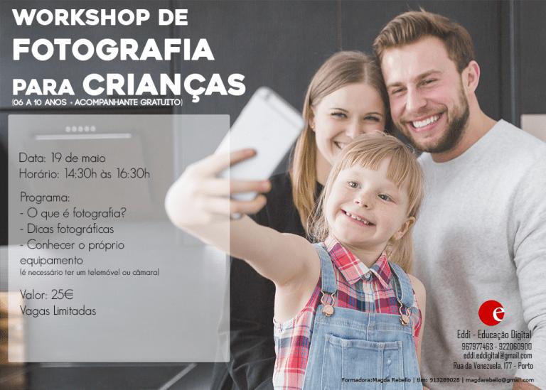 Workshop de Fotografia para Crianças EDDI