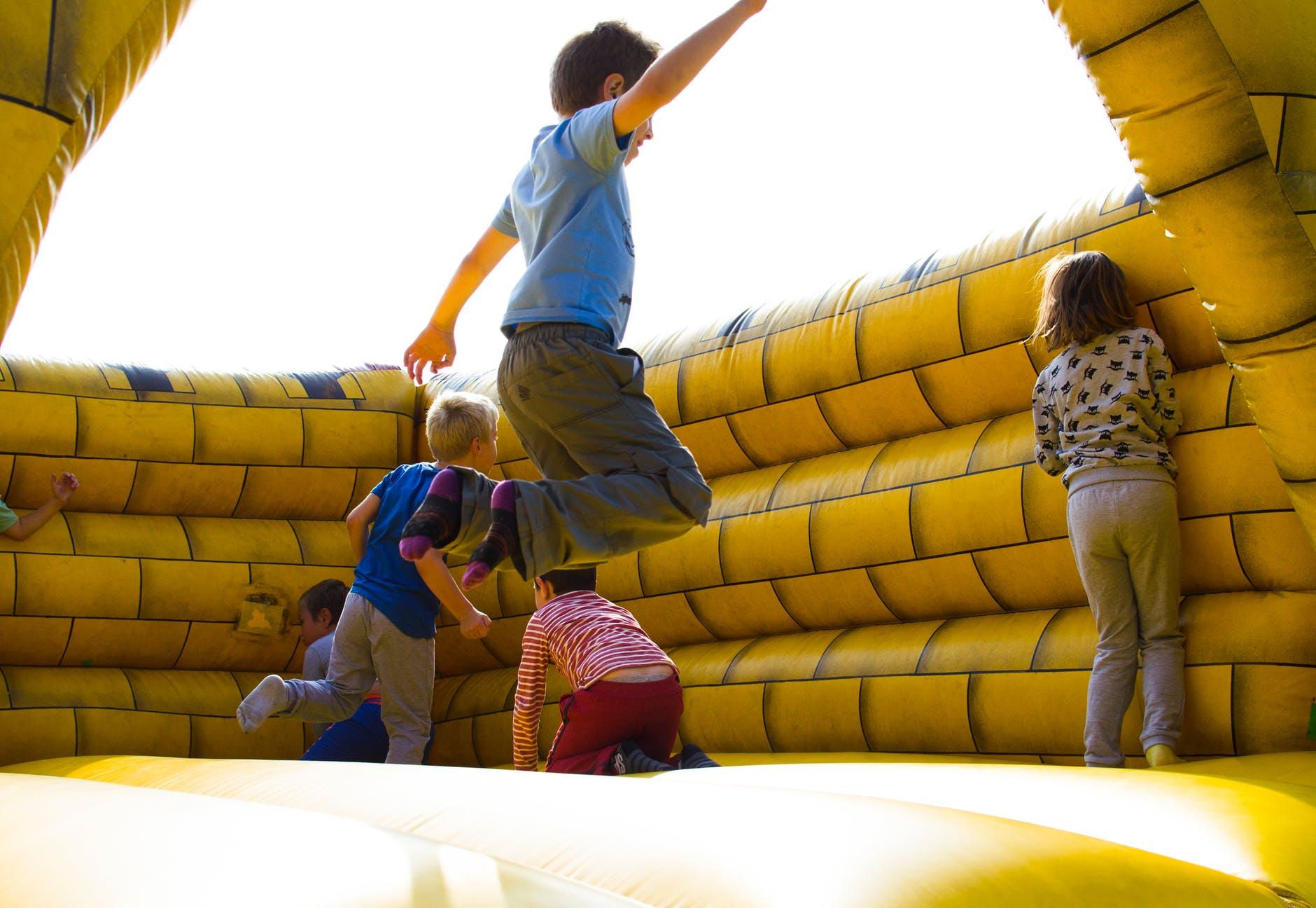 festas de aniversário infantil ao ar livre