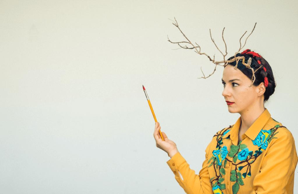 Antiprincesas- Frida Kahlo