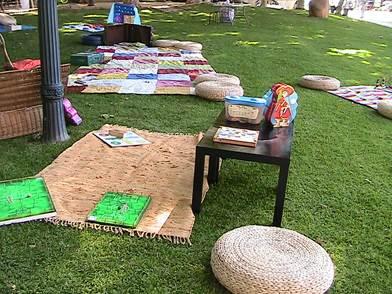Ludobiblioteca nos Jardins dos Passarinhos