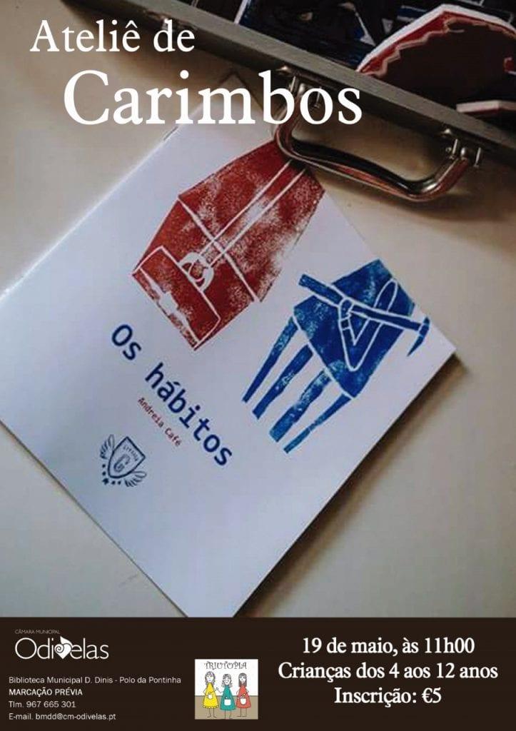Atelier de Ilustração com Carimbos