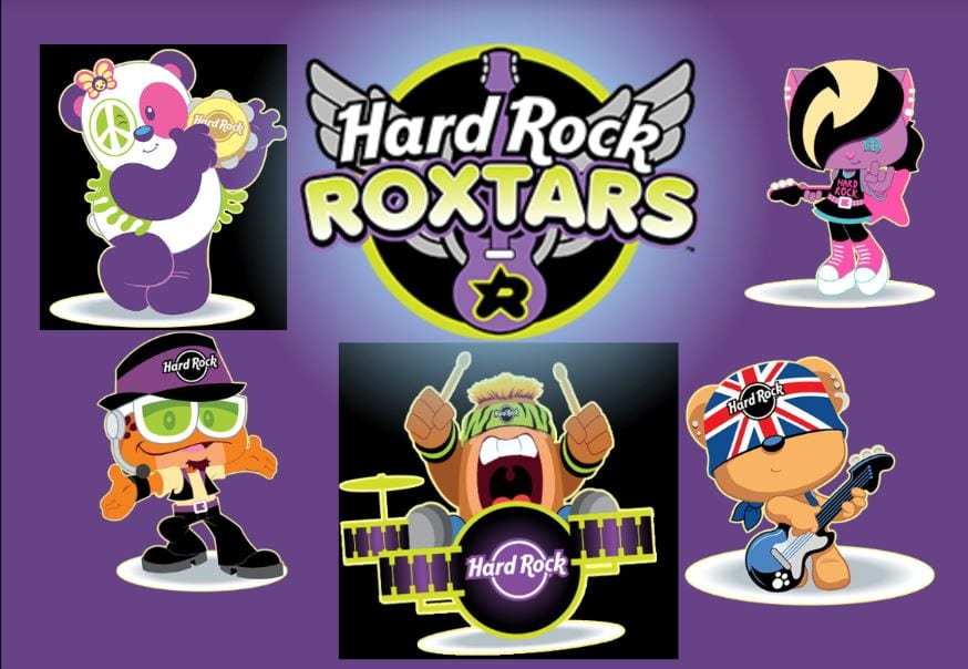 Banda Roxstars Hard Rock Cafe