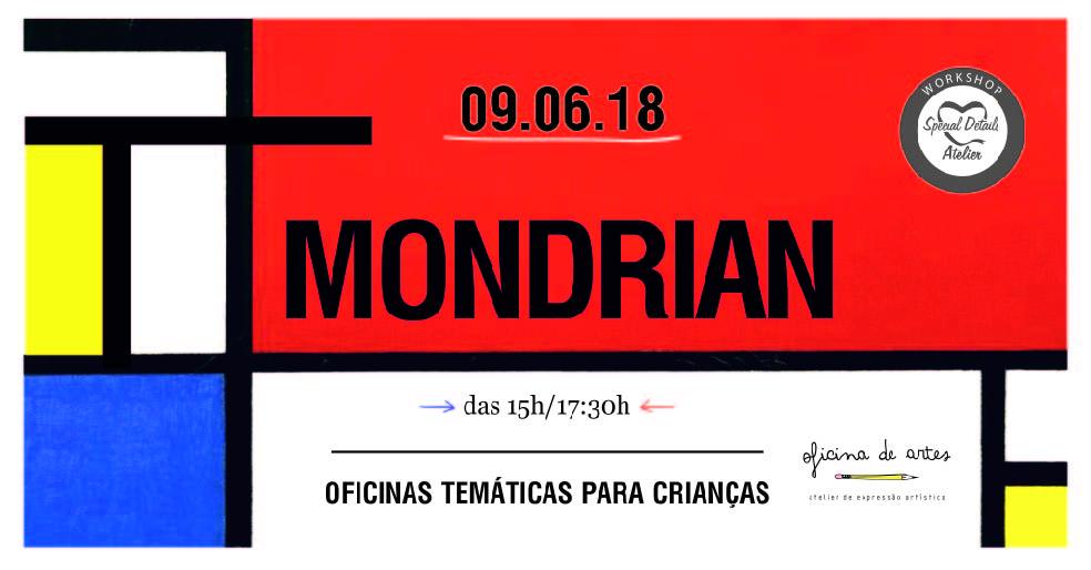 Mondrian – Oficina de Pintura Criativa para Crianças