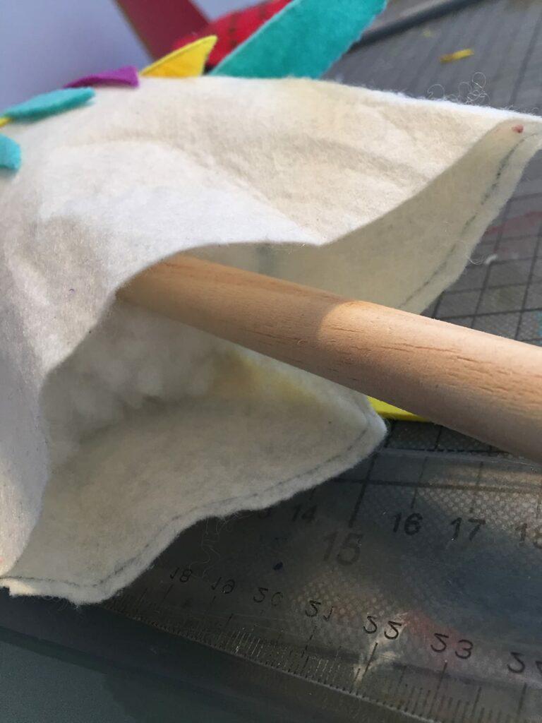 unicórnio de feltro 15