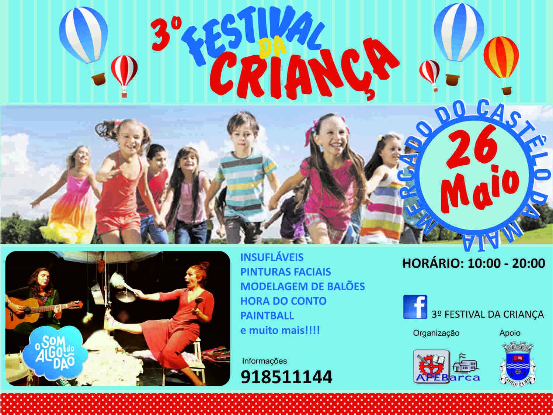 3º Festival da Criança do Castelo da Maia