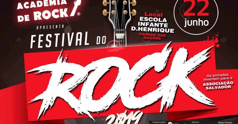 O Festival do Rock Solidário é já dia 22 de Junho!