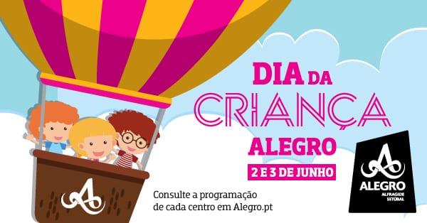 Dia da Criança nos centros comerciais Alegro