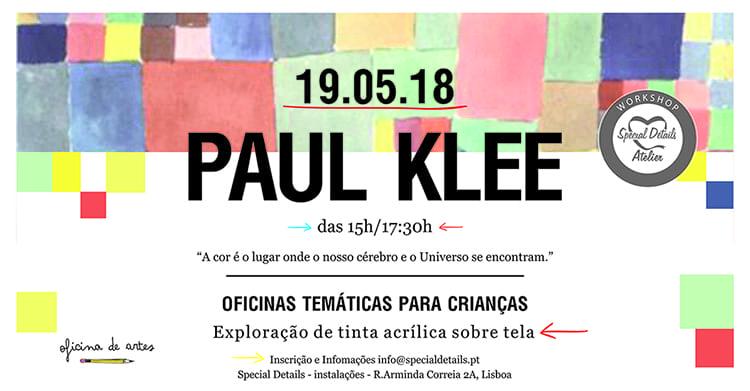 Paul Klee – Oficina Criativa para Crianças