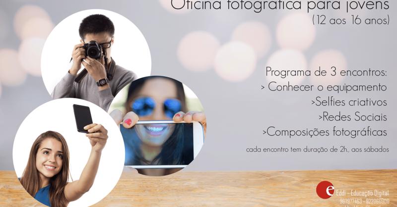 Oficina fotográfica para jovens