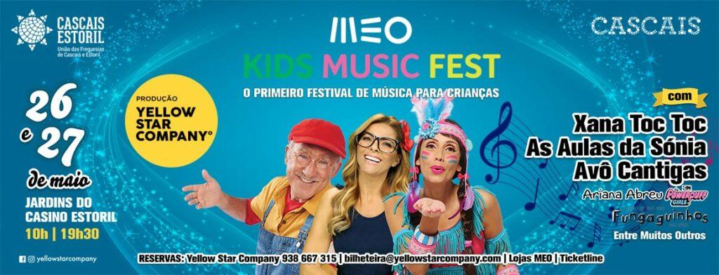 Passatempo Meo Music Kids Fest