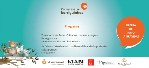 Sessão sobre o Transporte do Bebé