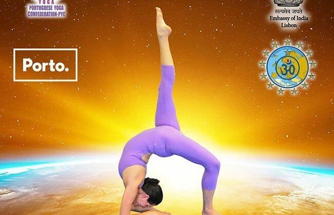 Dia Internacional do Yoga no Porto