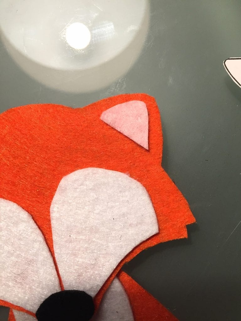passo 7 saco raposa