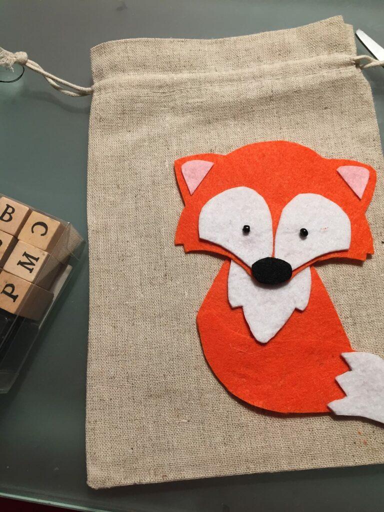 passo 9 saco raposa
