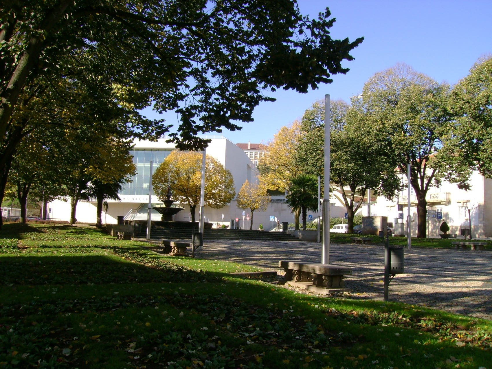 Jardim da Praça do Professor Cavaleiro de Ferreira