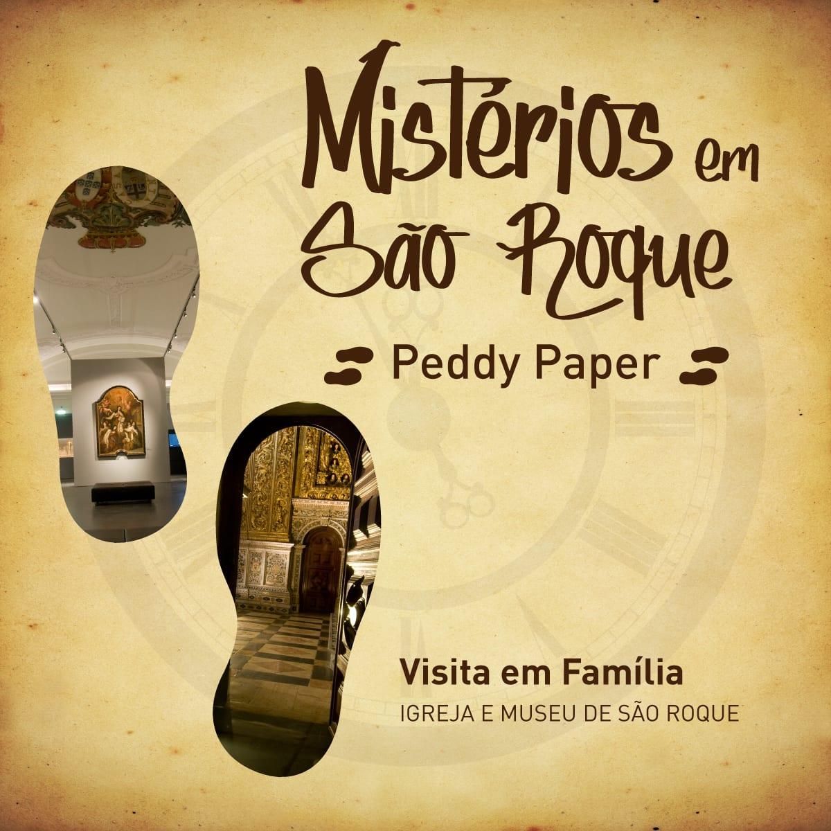 Os Mistérios em São Roque – Peddy Paper