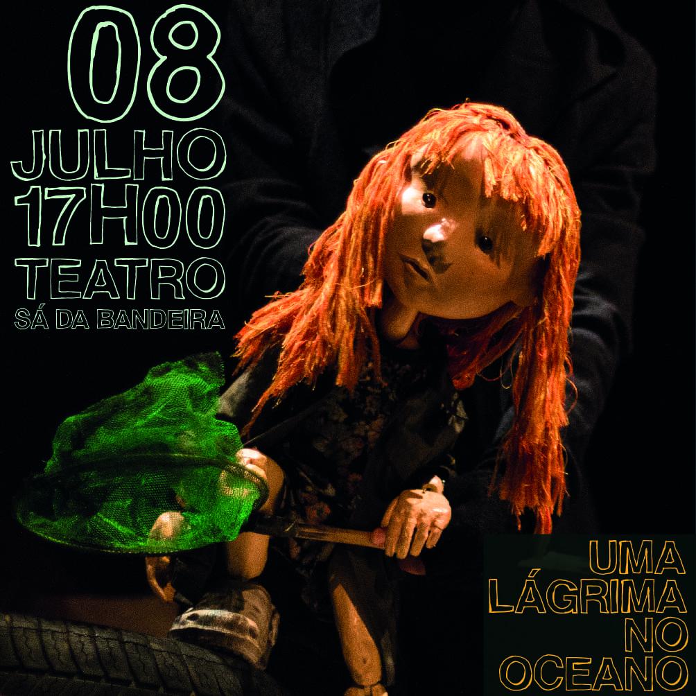 Teatro de Marionetas – Uma Lágrima no Oceano