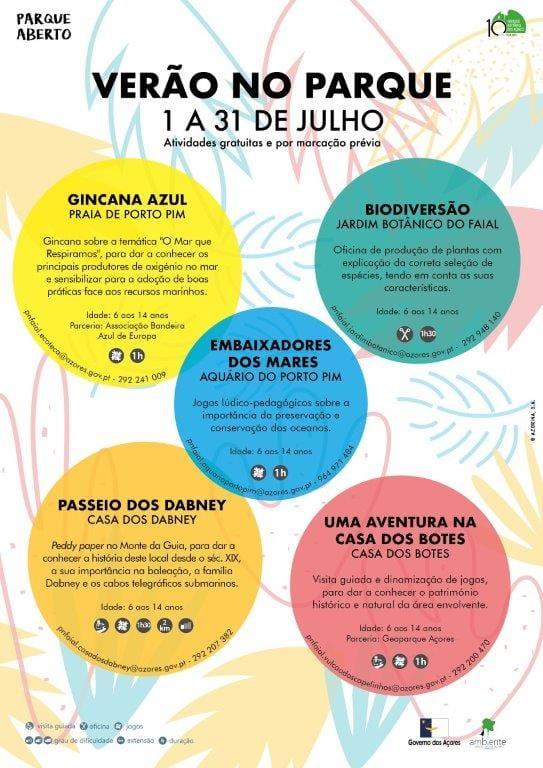 Parque Natural do Faial – Verão no Parque
