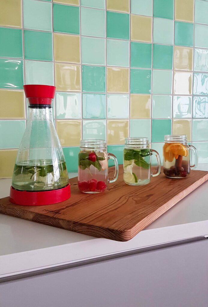 3 receitas de água aromatizada