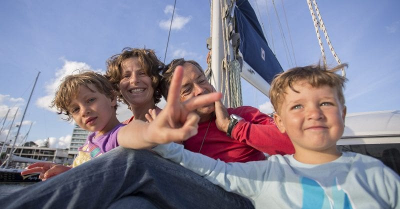 A vida em alto mar com a Família Furtado