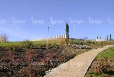 Jardim da Envolvente da Catedral de Bragança